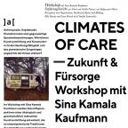 CLIMATES OF CARE. KRITISCHE KUNSTVERMITTLUNG IM KAPITALOZÄN – Workshop mit Sina Kamala Kaufmann 24/01/20