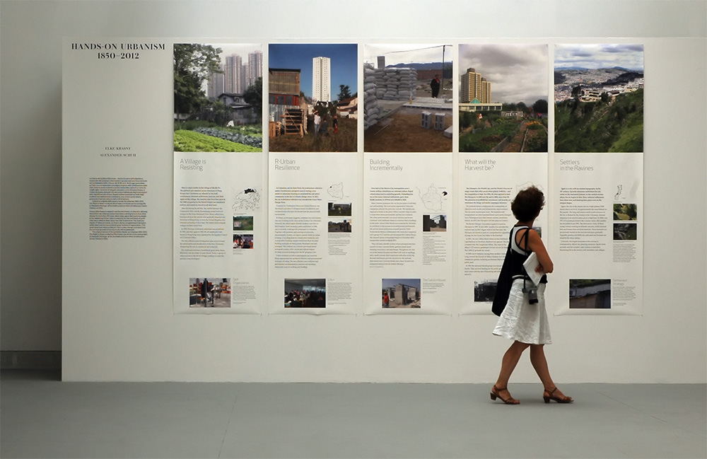 Hands-On Urbanism 1850-2012 by Elke Krasny, curator, and Alexander Schuh, graphic designer, is part of the exhibition Common Ground curated by David Chipperfield  Padiglione Centrale, 13. Mostra Internazionale di Architettura, La Biennale di Venezia 2012, 29.8.–25.11. 2012
